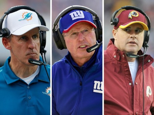 These 7 NFL Coaches Are On The Hottest Seats
