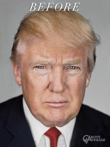 This Photoshop Artist Tried To Make Trump Look As Hot As Possible