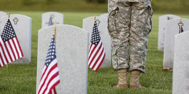 The Fallen Soldier on My Flight | HuffPost Life