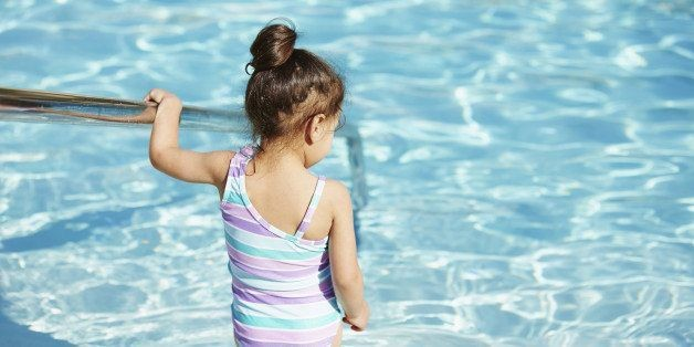 Here's What Gives Pools That Chlorine-y Smell (Spoiler: It's Gross)   HuffPost Life