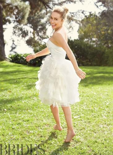 Hayden Panettiere Rocks A Wedding Dress Like No One Can