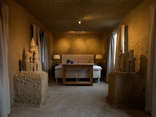 Check Into a Life-Size Sand Castle in the Netherlands