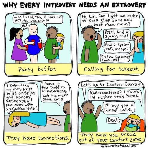10 Things Introverts Wish Their Extroverted Partners Understood   HuffPost Life