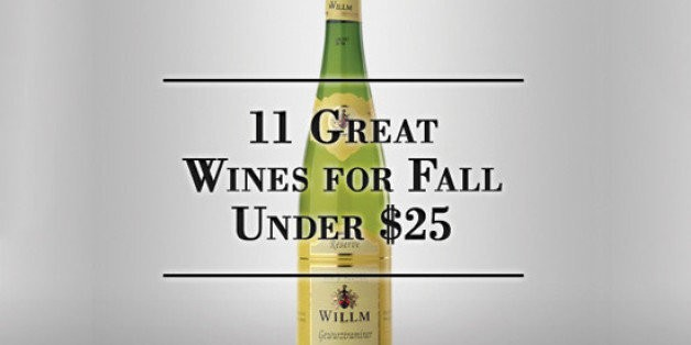 11 Great Wines for Fall Under $25   HuffPost Life
