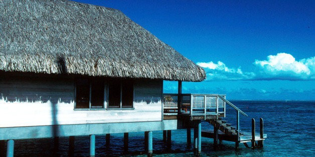 The World's Best Overwater Bungalows... Outside Tahiti   HuffPost Life