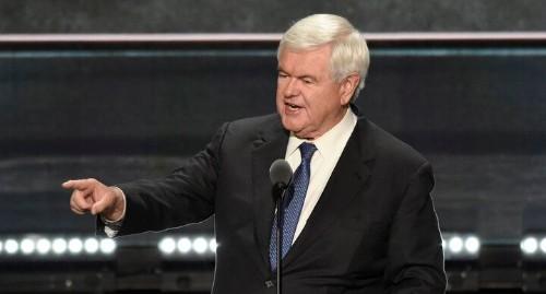 Newt Gingrich Repudiates Donald Trump's Economic Plan