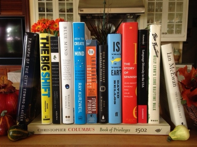 Old Family Recipe for a Thanksgiving of Books