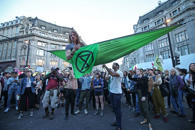 Extinction Rebellion Activists Are Switching Disruptive Tactics For 'Political Negotiation'
