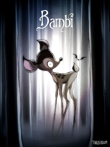 Disney Classics Reimagined As Tim Burton Films Are Delightfully Creepy