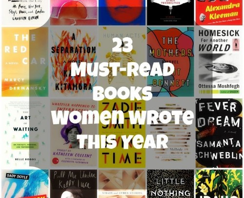 23 Recent Books By Women You Should Read ASAP