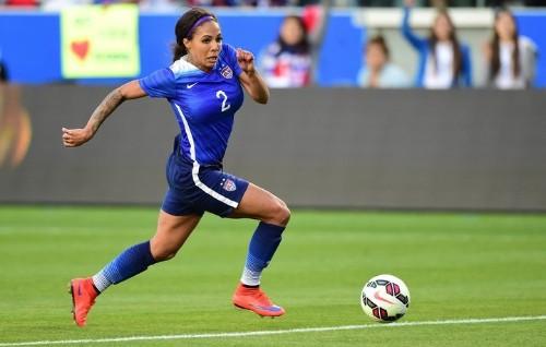 U.S. World Cup Winner Sydney Leroux's Message For Biracial Kids: 'It's Such A Beautiful Thing'