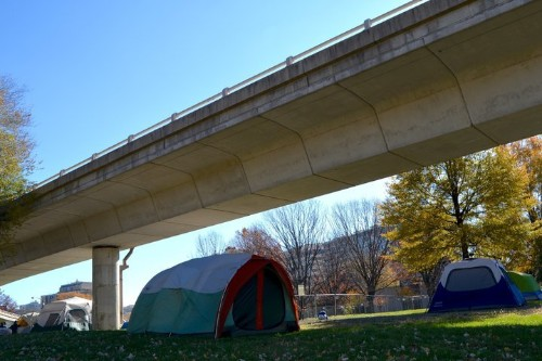 Washington D.C. Tries To Clear Tent City Of Homeless Residents