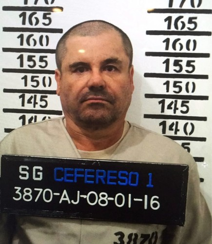 El Chapo 'Fled Naked Down Sewage Tunnel During Raid', Claims Former Lover