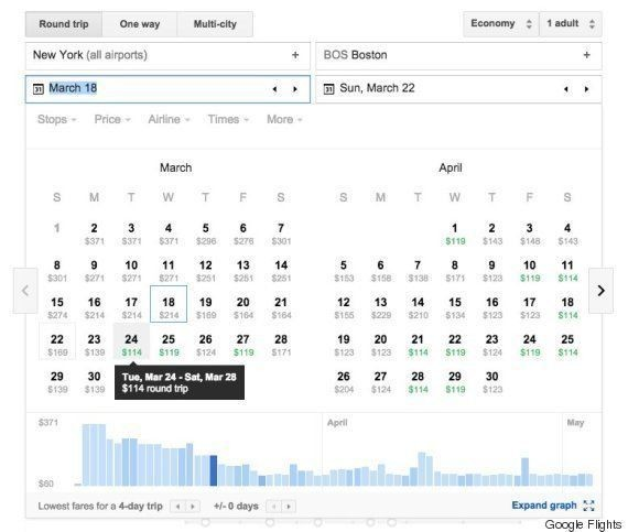 7 Google Flights Tricks That Are Better Than Any Travel Agent | HuffPost Life