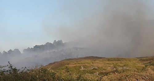 Firefighters Battle Moorland Blaze In Yorkshire On Hottest Day Of 2019