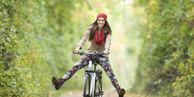 Traveling the World -- A Lady and Her Bicycle