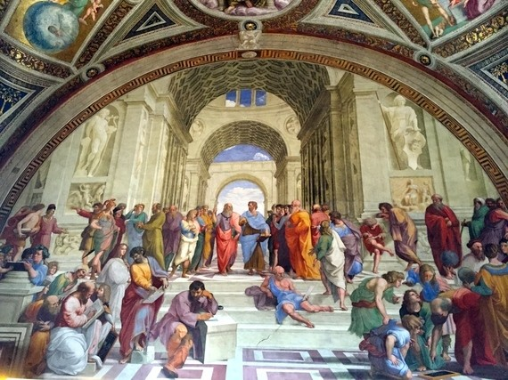 Questioning Authority in the School of Athens