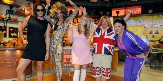 'The Chew' Cast Dresses Up As The Spice Girls For Halloween (PHOTOS)   HuffPost Life