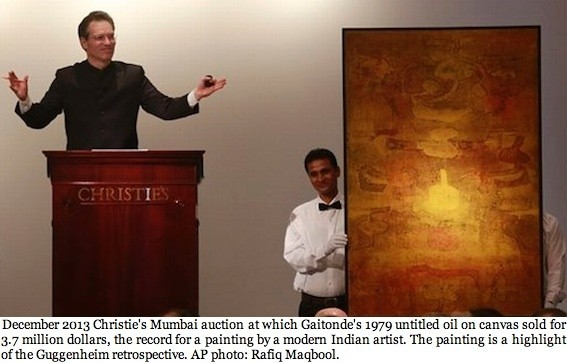 The Light In the Cave: Vasudeo S. Gaitonde and His Painted Perceptions Shine at The Guggenheim