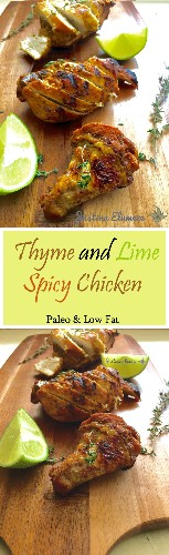 How Do You Like Yours? Thyme And Lime Spicy Chicken