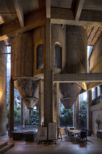 Man Turns Empty Cement Factory Into The Most Magical Home | HuffPost Life