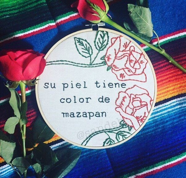 This Crafty 'Chingona' Is Proving Embroidery Can Be Empowering