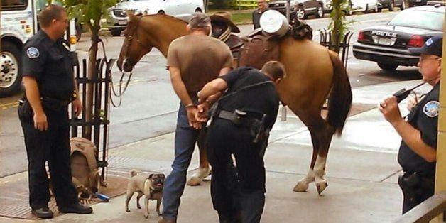 Patrick Neal Schumacher, Allegedly Drunk, Planned To Ride Horse 600 Miles