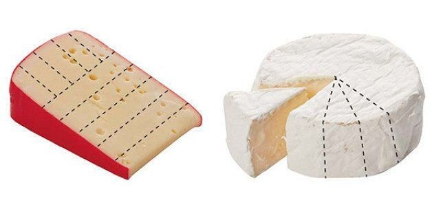 You're Slicing Cheese All Wrong. Here's How To Cut Every Shape Of Wedge, Wheel And Chunk. | HuffPost Life