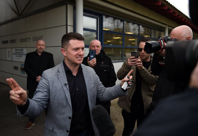 Tommy Robinson To Stand For MEP In Euro-Elections