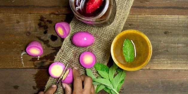 Bar Food: Pickled Eggs Recipe From Bronwyn | HuffPost Life
