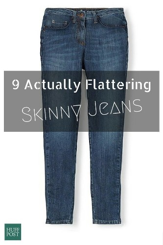 The Best Skinny Jeans That Are Flattering On ALL Body Types | HuffPost Life