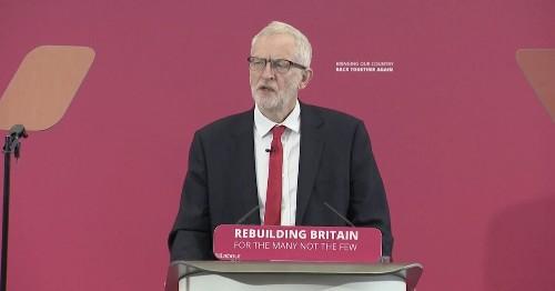 Corbyn Launches EU Election Campaign