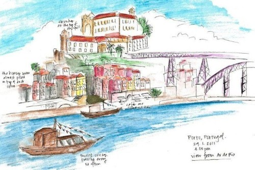 12 Travel Sketches From Around the World (PHOTOS) | HuffPost Life