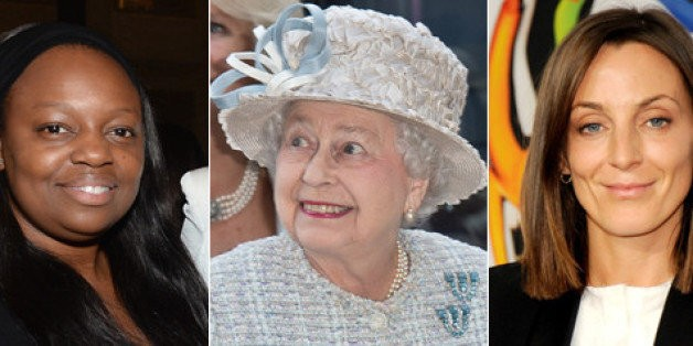 Queen Elizabeth Honors Fashion Faves Phoebe Philo And Pat McGrath, Proving Her Great Taste