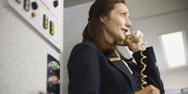 The Secret Language Of Flight Attendants Is Your New Inflight Entertainment | HuffPost Life
