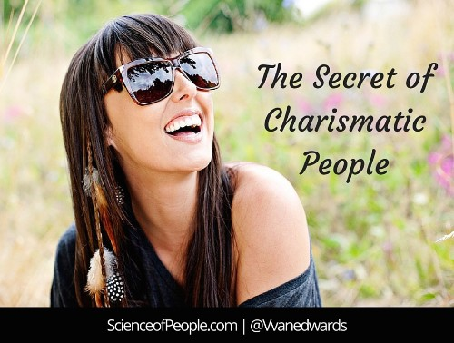The Secret of Charismatic People