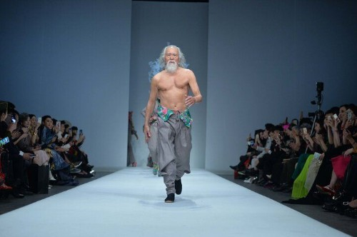 80-Year-Old Model Crushes Stereotypes With His Runway Swagger | HuffPost Life