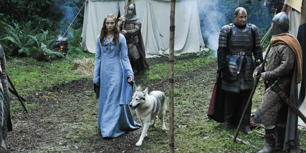 Sophie Turner Adopted Her Direwolf From 'Game Of Thrones'