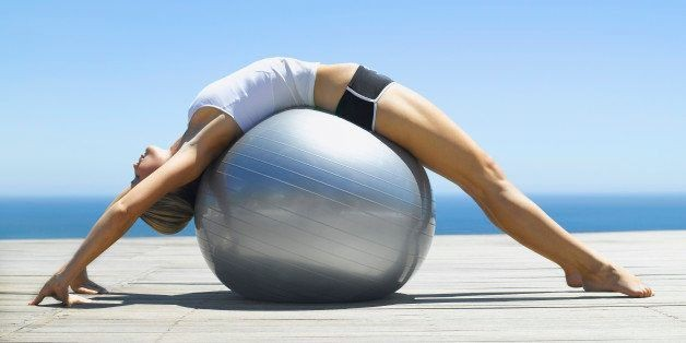 5 Stability Ball Exercises for a Crazy Strong Core | HuffPost Life