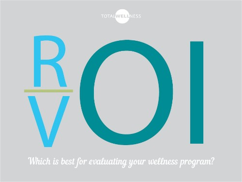 ROI vs. VOI: Which Is Better For Evaluating Your Wellness Program?