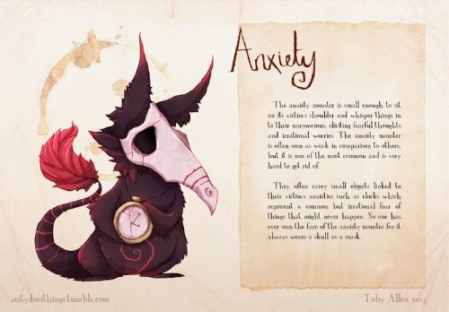 If Mental Illnesses Were Monsters, This Is What They'd Look Like | HuffPost Life