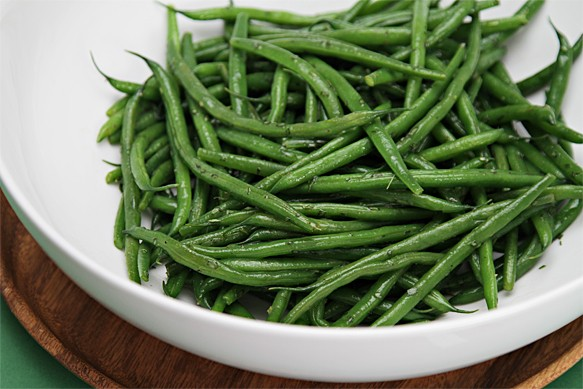 Haricots Verts With Tarragon Butter