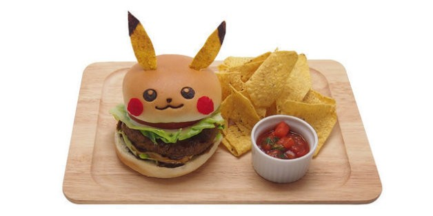 Pikachu-Shaped Food Served In Tokyo's Pop-Up Pokémon Restaurant | HuffPost Life