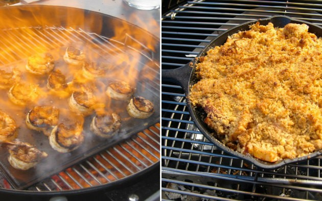 How to Use Cast Iron on the Grill
