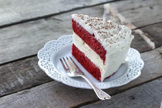 Copycat Red Velvet Cheesecake