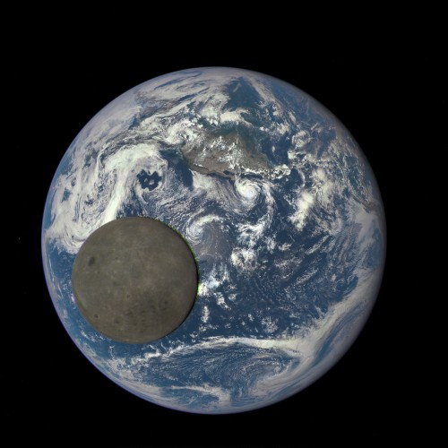 Incredible Photo Captures The 'Dark Side' Of The Moon