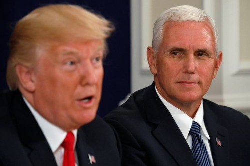 Trump Reportedly Joked That Pence 'Wants To Hang' All Gays