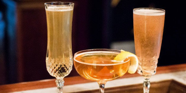 3 Champagne Cocktail Recipes for the Most Wonderful Time of the Year | HuffPost Life