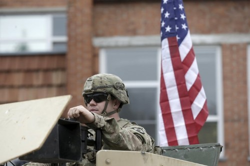 In A Flashback To Cold War Days, Pentagon Announces Plan To Deploy Troops Along Russian Border