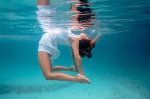 These Underwater Yoga Photos Prove The Practice Is Truly Magical | HuffPost Life